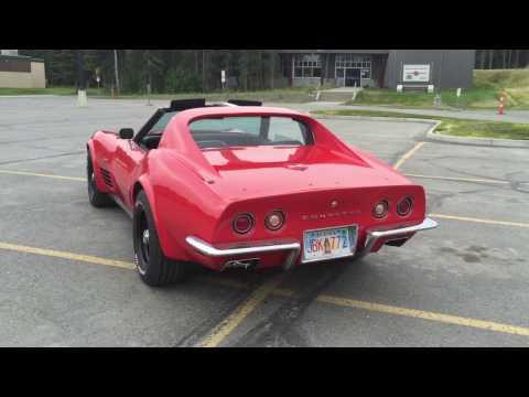 1972 C3 Corvette With LS Motor