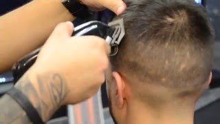 Comb Over Tutorial by DANNY TOP BARBER