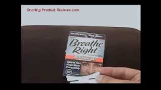 REVIEW:  Breathe Right Nasal Strips