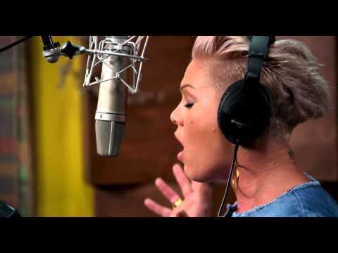 ALICE THROUGH THE LOOKING GLASS | Behind The Scenes with P!NK  | Official Disney UK