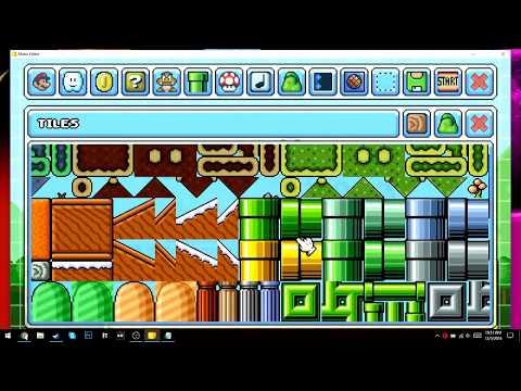 Mario Editor level making stream #1