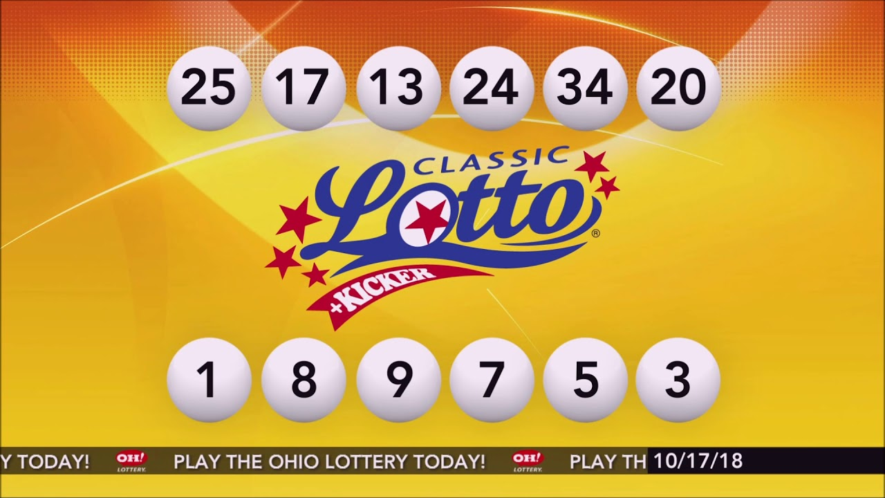 Classic Lotto Drawing Results 10172018 – Ohio Lottery – Buy Lottery