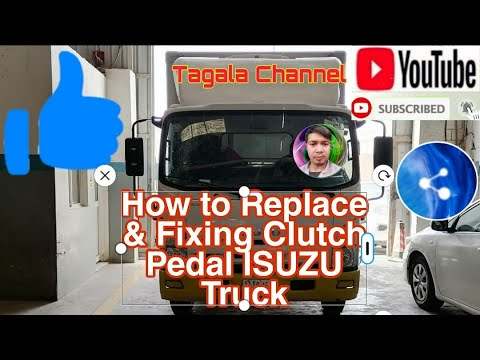 How to Replace and Fixing Clutch Pedal Isuzu