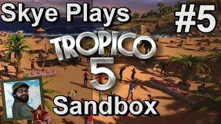 Tropico 5: Gameplay Sandbox #5 ►Housing and Happiness◀ Tutorial/Tips Tropico 5