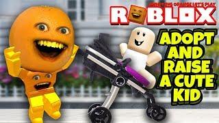 Roblox: Adote e levante um miúdo bonito 👶 🍊 [jogos alaranjados irritantes]