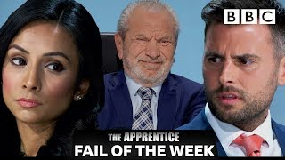 FAIL OF THE WEEK: Boardroom bickering causes trouble for candidates | The Apprentice - BBC