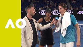 Sharma/Smith on-court interview (SF) | Australian Open 2019
