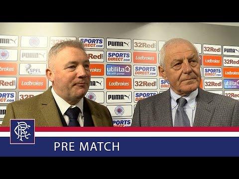 PRE MATCH | Walter and Ally | Rangers Legends Match