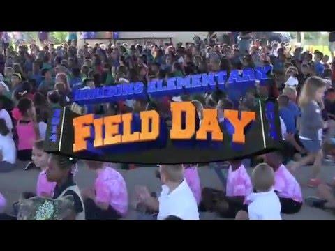 Field Day At Horizon Elementary 2014