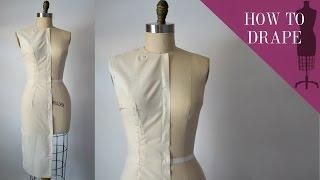 How To Drape A Sheath Dress Bodice