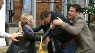 Hollyoaks - Ryan tries to attack Harry