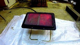Бюджетное отопление гаража или мастерской