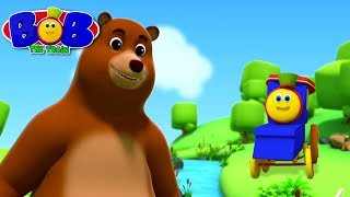 The Bear Went Over The Mountain | Bob the Train | Kids Rhymes & Songs for Children