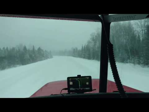 Trucking in the UP of Michigan