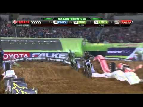 2012 AMA Supercross SX Rd7 Dallas LCQ.