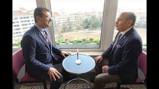 Ekrem İmamoğlu'ndan Kadir Topbaş'a ziyaret