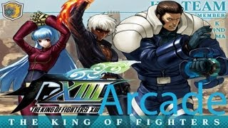 The King Of Fighters XIII Arcade - K' team