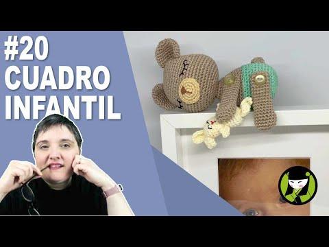 Cuadro infantil amigurumi 20 paso a paso FINAL con chat en directo!