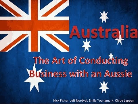 Business Etiquette in Australia