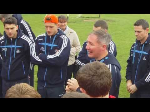 2013-11-02 Welcome to Dublin Sr. Football Team