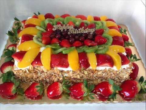 verjaardagstaart fruit