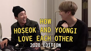 how hoseok and yoongi love each other | 2020 edition