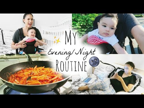 SUMMER EVENING/NIGHT ROUTINE 2017 | MOMMY EDITION