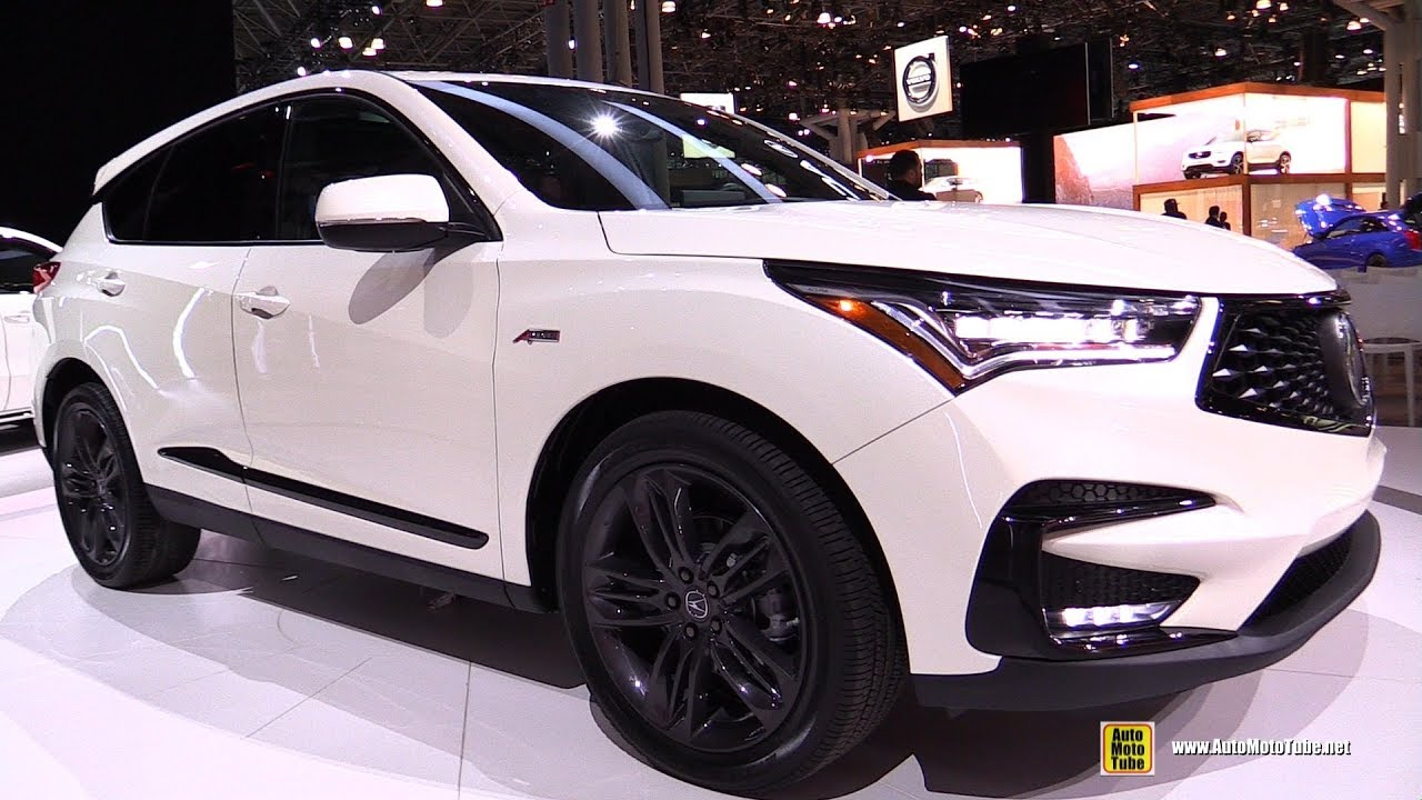 2019 Acura Rdx A Spec Exterior And Interior Walkaround Debut At