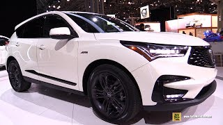 2019 Acura RDX A-Spec - Exterior and Interior Walkaround - Debut at 2018 New York Auto Show