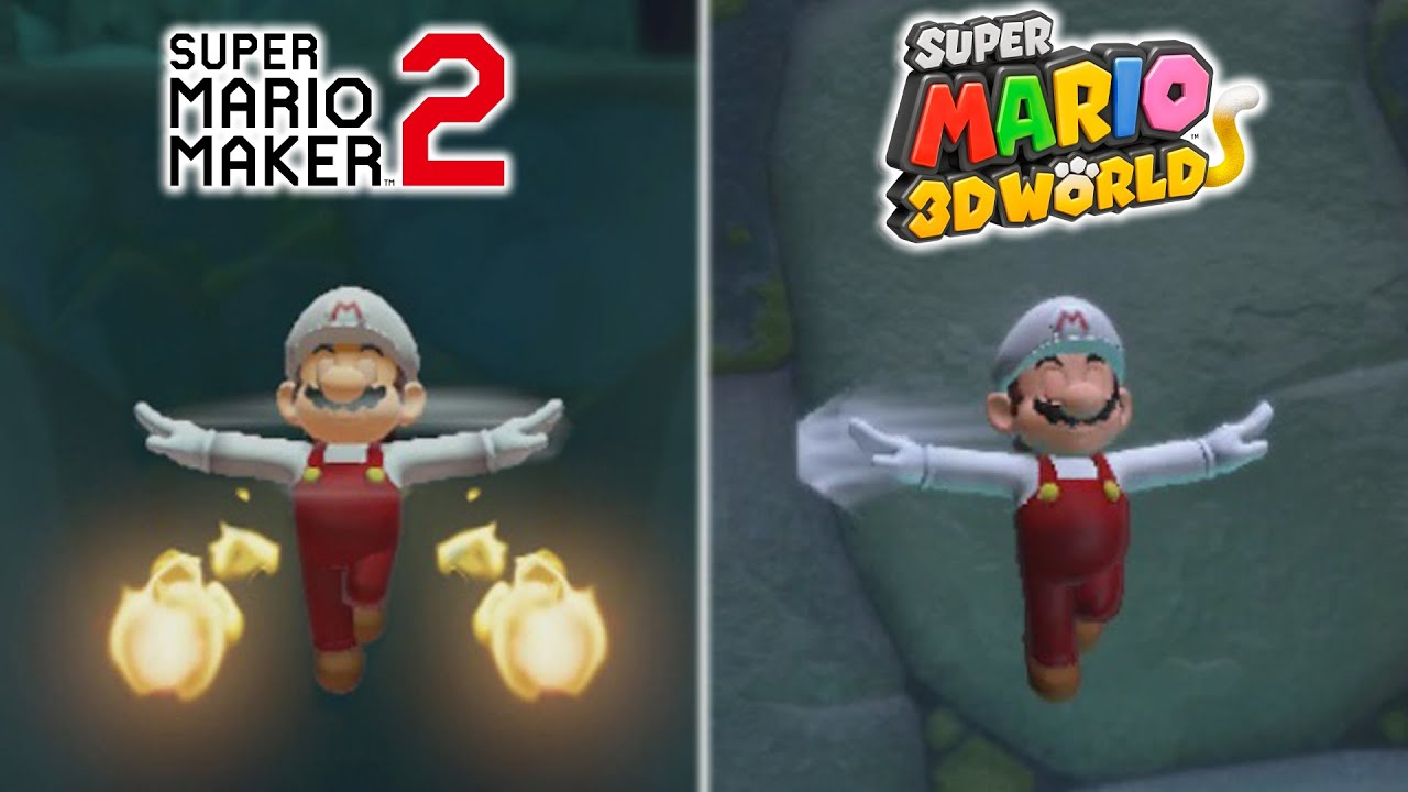 Download 20 Differences Between Super Mario 3D World and Super Mario Maker 2