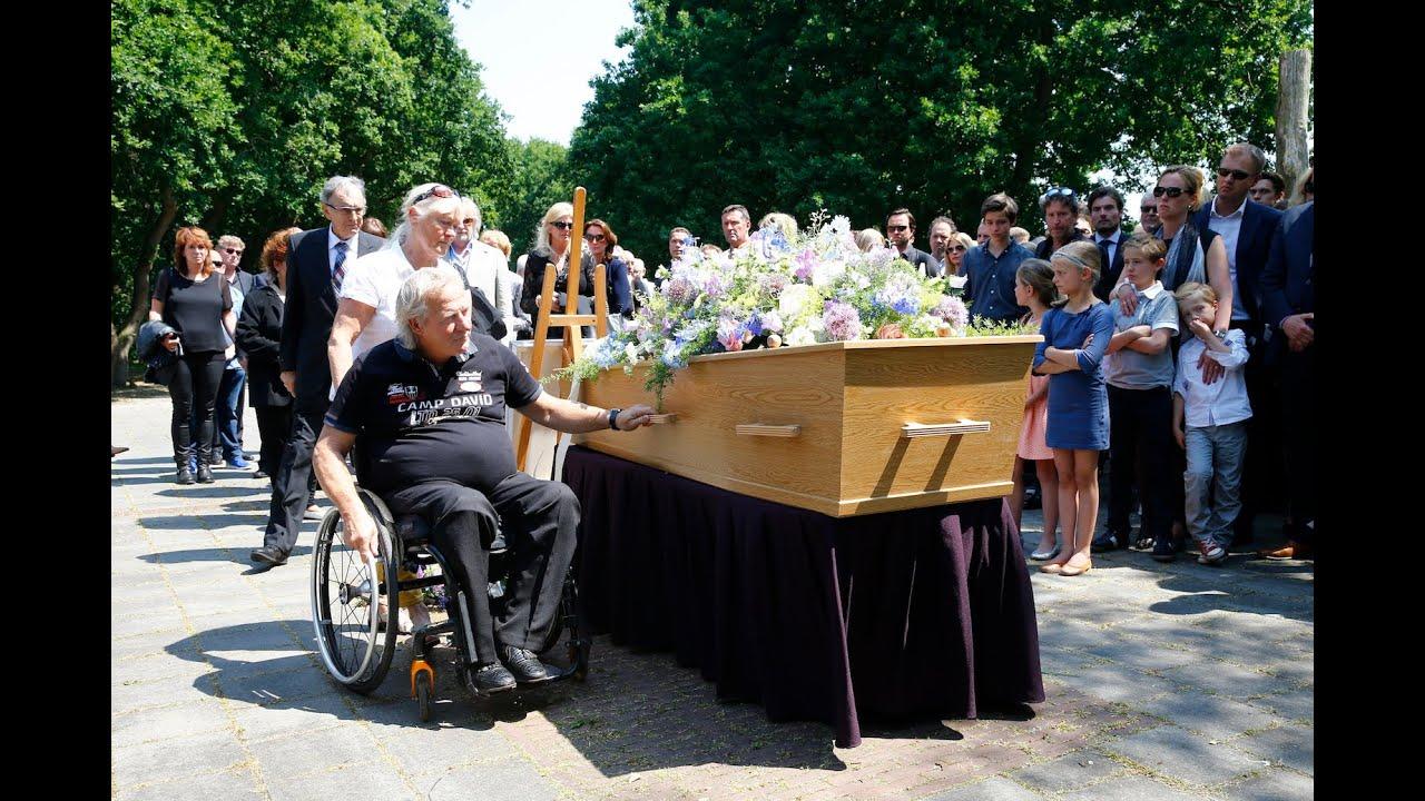 Begrafenis van Albert West vanuit de SintJan in Den Bosch