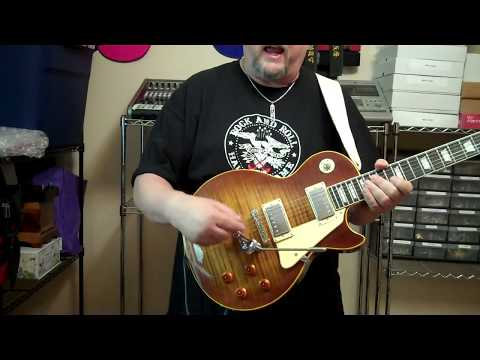 Duesenberg Les Trem Vibrato For Gibson Guitars Youtube