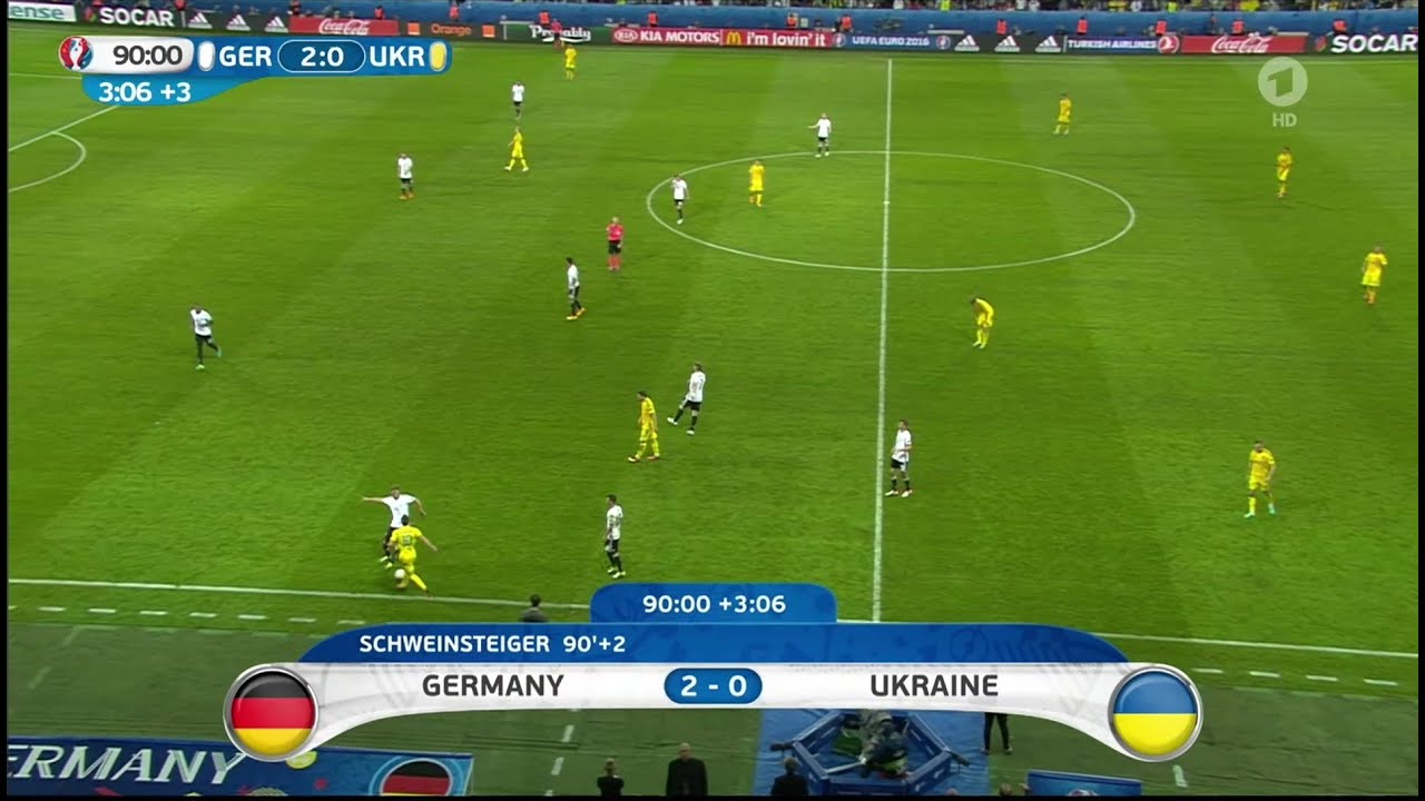 Deutschland - Ukraine Em 2021