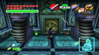 Zelda Ocarina Of Time Master Quest - Water Temple / Temple de l'eau + All / Toutes Les Skulltulas