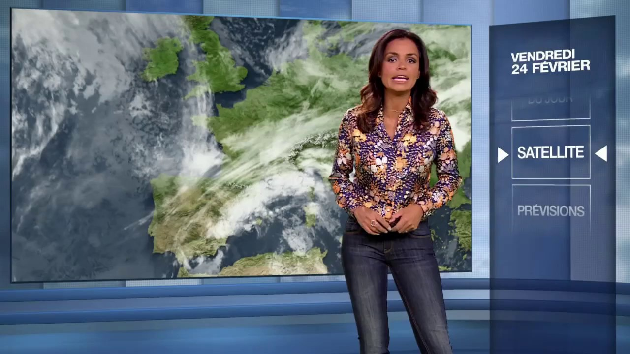 la meteo de laurence roustandjee le 2017 02 24 sur m6. Black Bedroom Furniture Sets. Home Design Ideas
