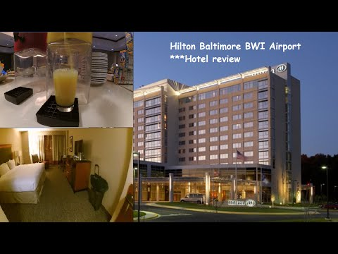 Hilton Baltimore BWI Airport ***Hotel Review [HD]