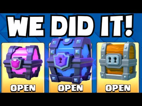 Clash Royale ALL THE BEST CHESTS (Giant / Magical / Super Magical Chest) | What Cards Did We Unlock?