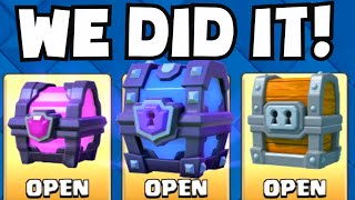 Clash Royale ALL THE BEST CHESTS (Giant / Magical / Super Magical Chest)   What Cards Did We Unlock?