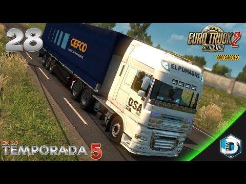 Euro Truck 2 - T5E28 - Definitivamente... Soy el Pomadas   Gameplay Español