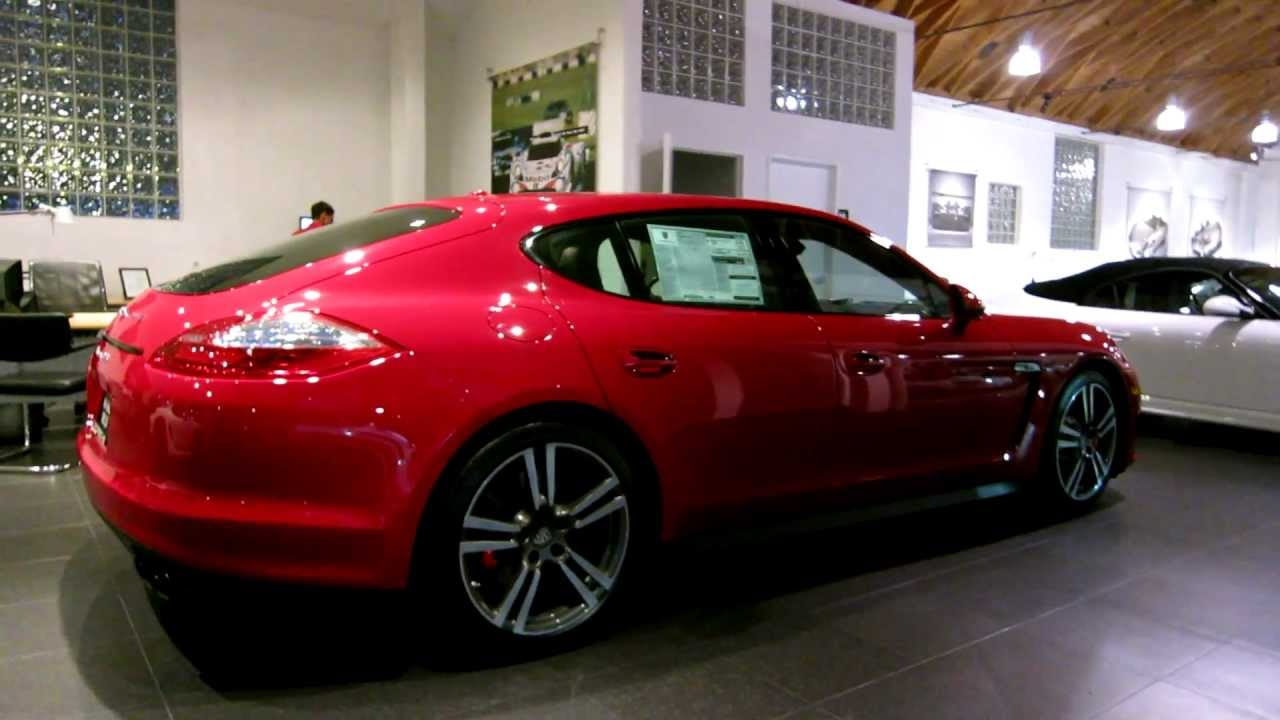 Porsche Panamera For Sale >> 2013 Porsche Panamera GTS in Carmine Red FOR SALE in Beverly Hills California 1080p HD - YouTube