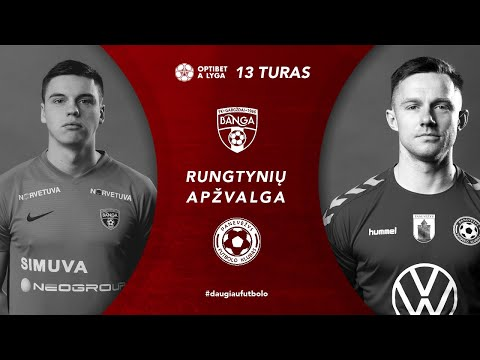Banga Gargzdai FK Panevezys Goals And Highlights