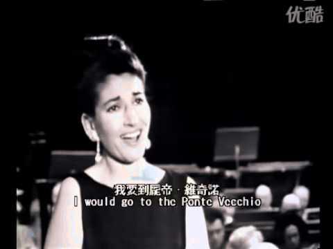 """Maria Callas 1965 """"Oh Mio Babbino Caro"""""""