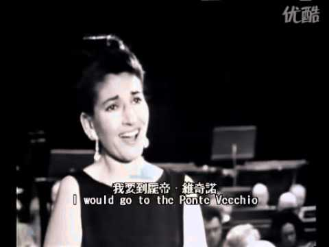 Maria Callas 1965 'Oh Mio Babbino Caro'