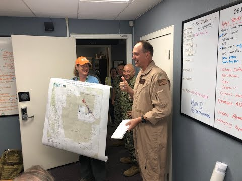 Navy Base Commander Commends USGS Work Following Earthquake Sequence