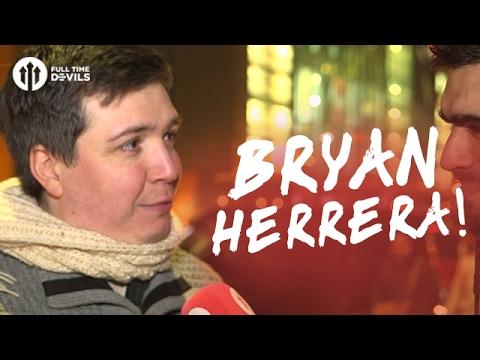 Bryan Herrera! | Manchester United 2-0 Watford | FANCAM