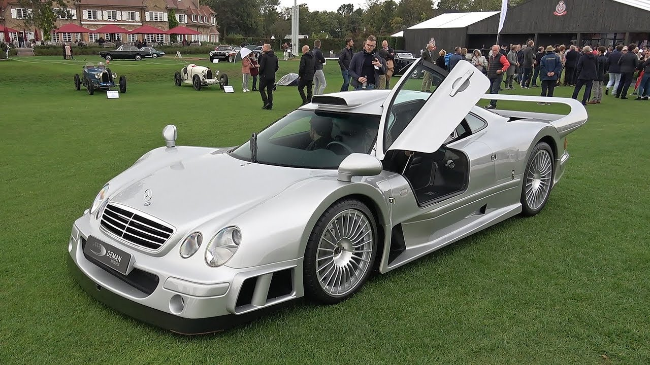 $4.0 Million Mercedes-Benz CLK GTR!