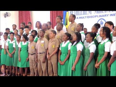 Manchester High School ChoirTotal Praise at Bethlehem Moravian College