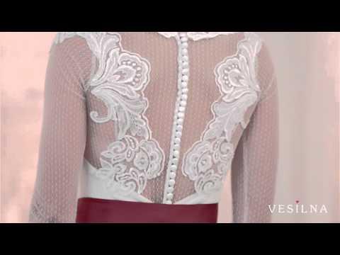 Свадебное платье русалка  2016 года от VESILNA™ модель 3024