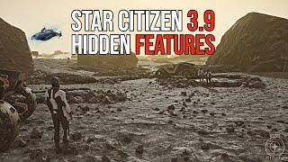Star Citizen Alpha 3.9 - HIDDEN FEATURES & LEAKS