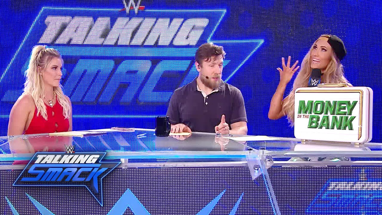 Download Carmella gloats after her Money in the Bank victory: WWE Talking Smack, June 27, 2017 (WWE Network)